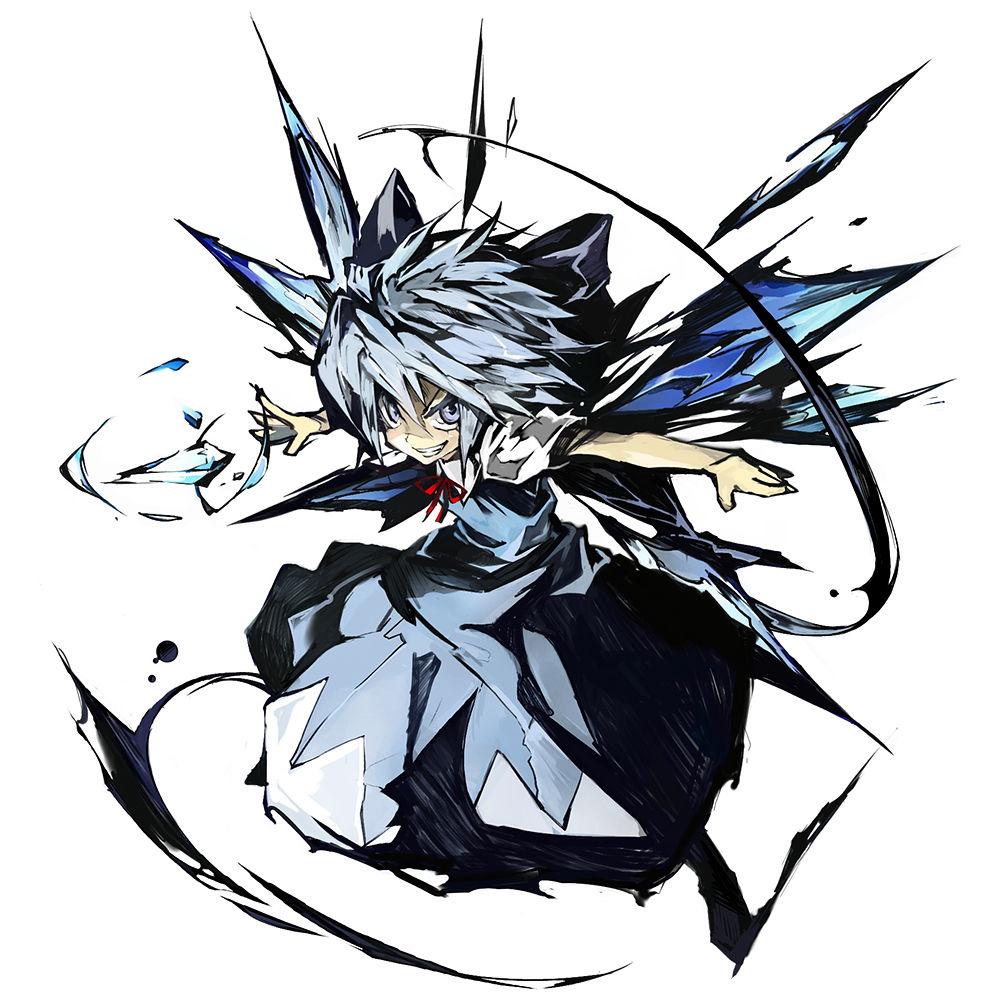 チルノ 東方project チルノ画像集 壁紙向け naver まとめ anime touhou anime anime art