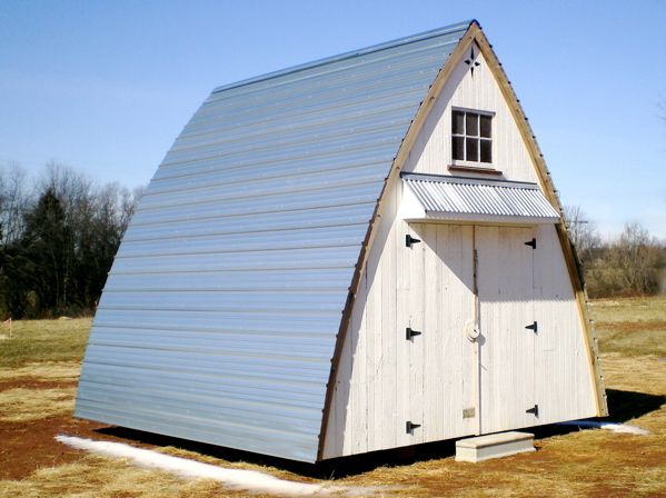 How to build a gothic arch shed