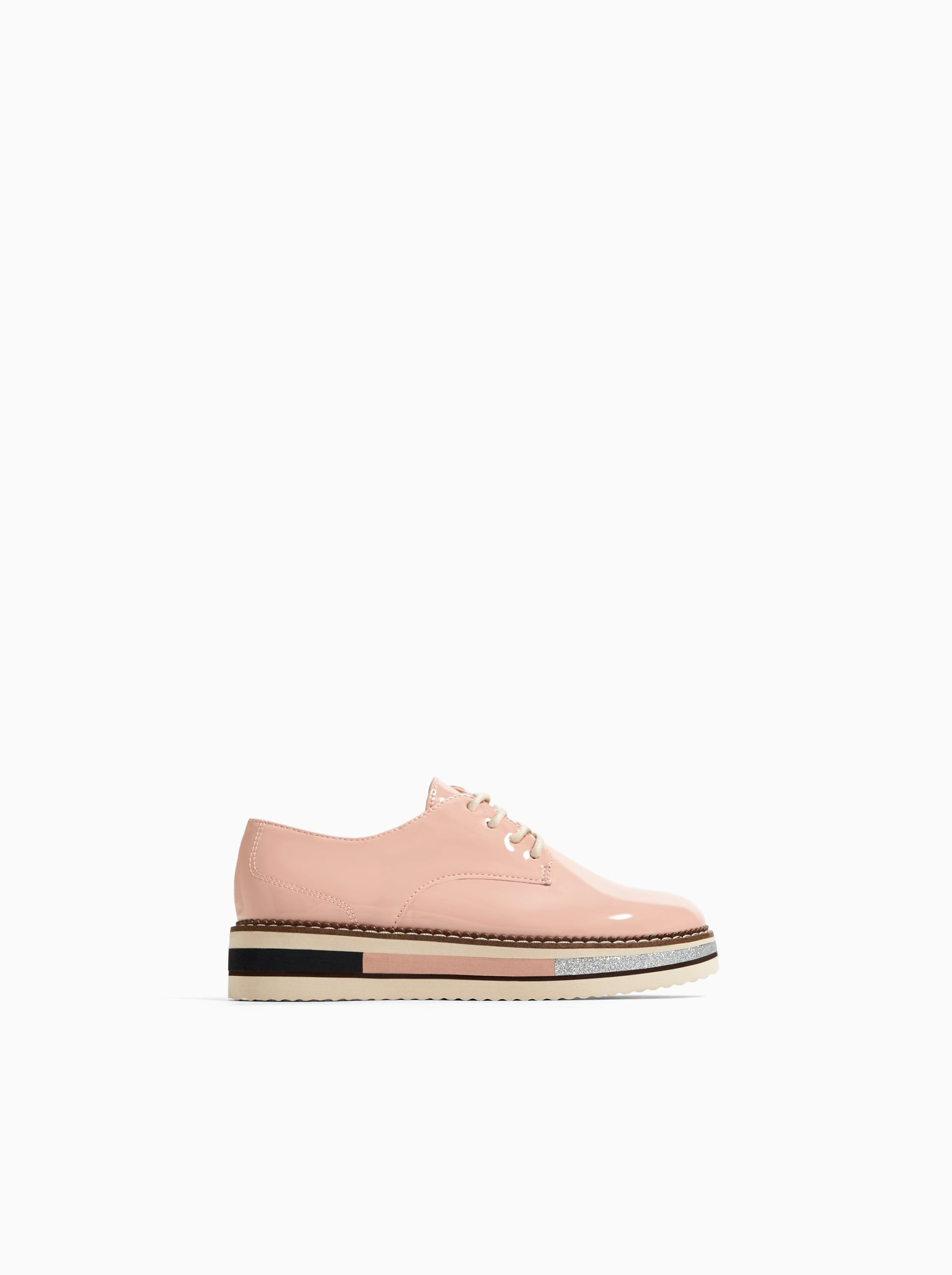 7bcf1ae5633 Image 1 of DETAILED SOLE DERBY SHOES from Zara | Girls shoes | Shoes ...
