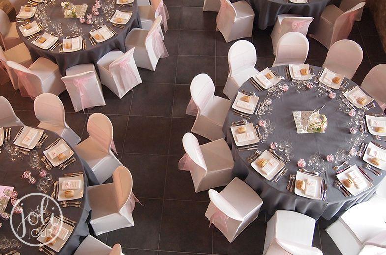 decorateur de mariage tours poitiers niort la rochelle angoul me location nappes grises gris et. Black Bedroom Furniture Sets. Home Design Ideas