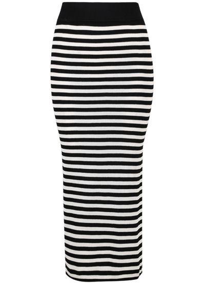 bc69c93706 Falda rayas-blanco y negro