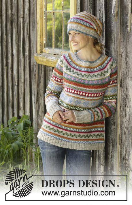 Photo of Winter carnival / DROPS 196-6 – free knitting patterns by DROPS design