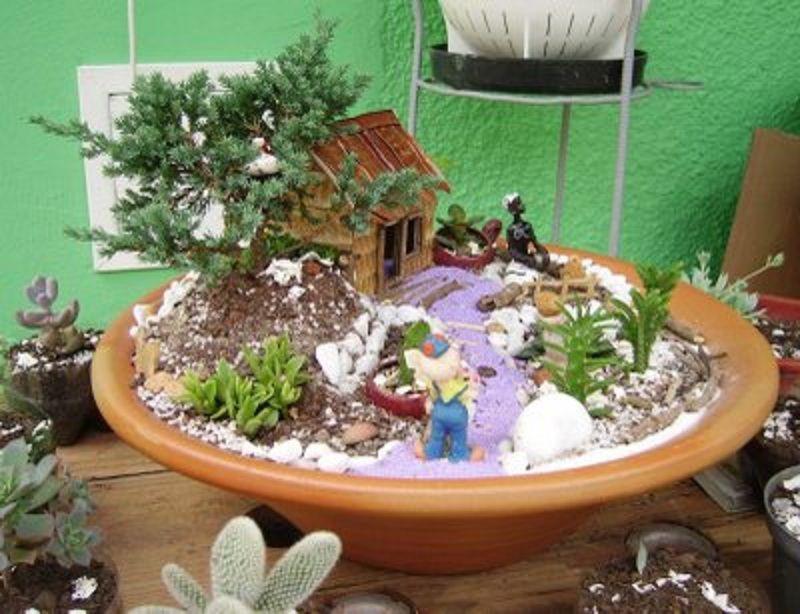 mini jardines zen buscar con google succulent terrarium pinterest adult crafts and terraria. Black Bedroom Furniture Sets. Home Design Ideas