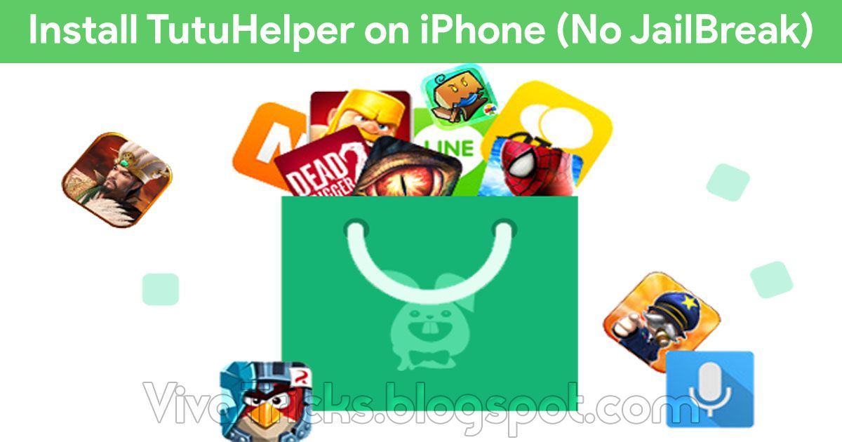 Tutu Helper is the best iOS Tutu application installer