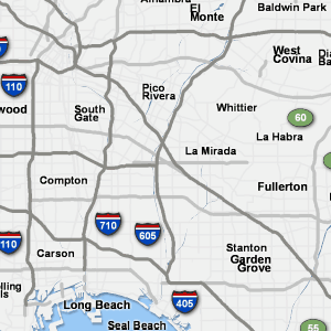 Sigalert Com Los Angeles Traffic Map Traffic Map Seal Beach