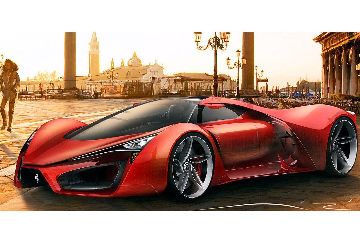 Ferrari F80 Concept: Design-Entwurf