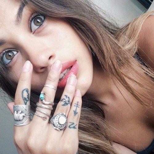 Cristal Serrano Tattoos