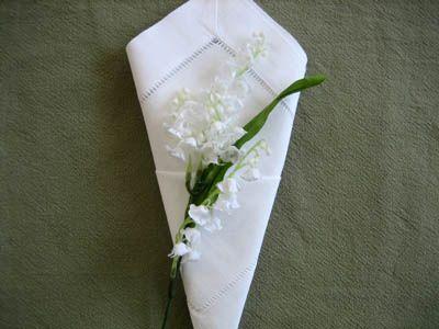 Cone Napkin Folding Style - Napkin Fold Tutorial   For the Home ...