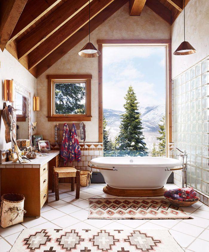 """Magisk Utsikt Och Makalös Inredning I Den Mysigaste """"Fjällstugan Extraordinary Utah Bathroom Remodel Design Ideas"""