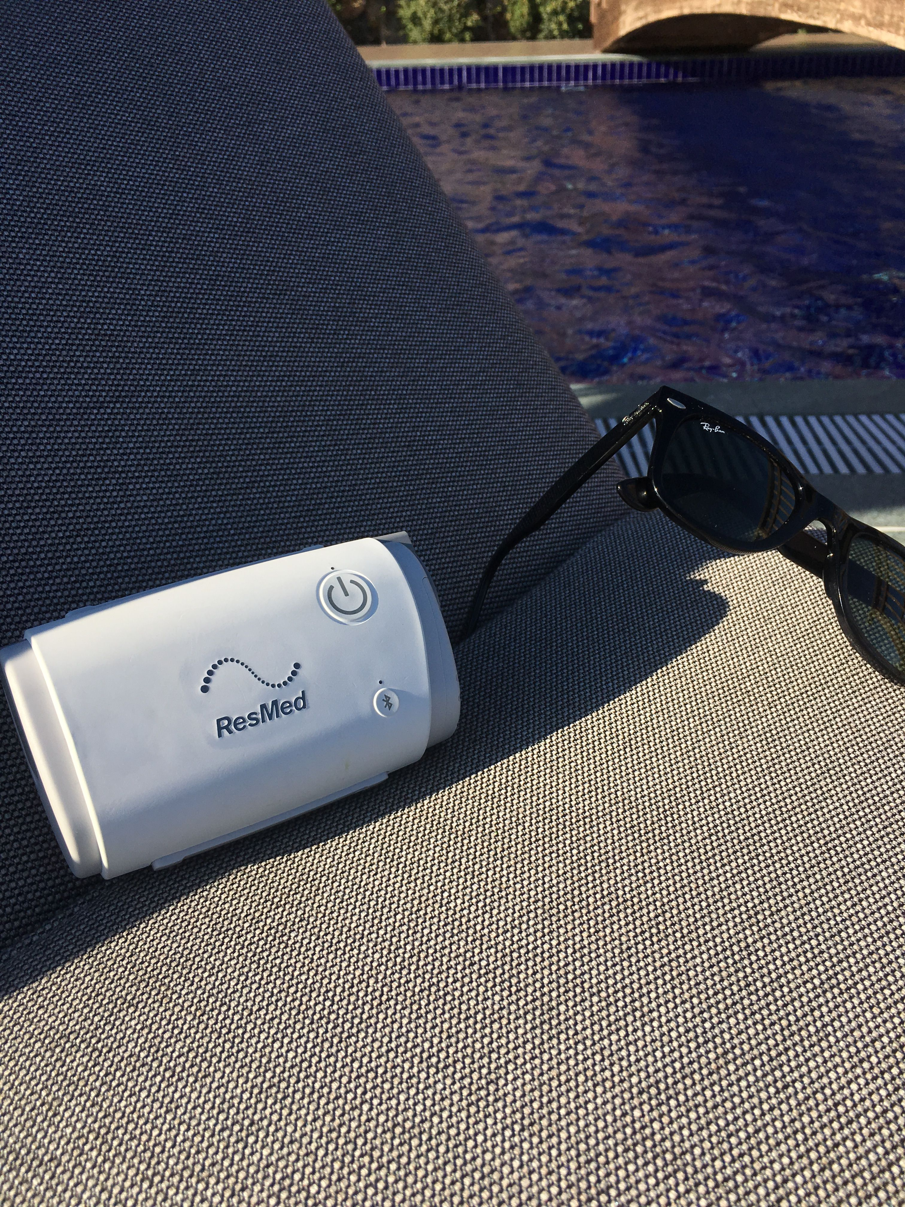 Pin By Respitek Vivisol On Resmed Airmini Resmed Electronic Products Bluetooth