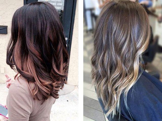 Окрашивание шатуш фото до и после на русые волосы