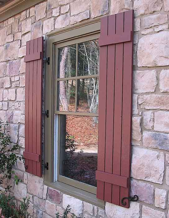 Exterior Wood Shutters Carpentry And Home Improvement Ideas Window Shutters Pinterest