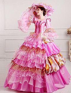 steampunk®georgian vittoriano abito del partito reale Maria Antonietta rococò wholesalelolita abiti da principessa prom