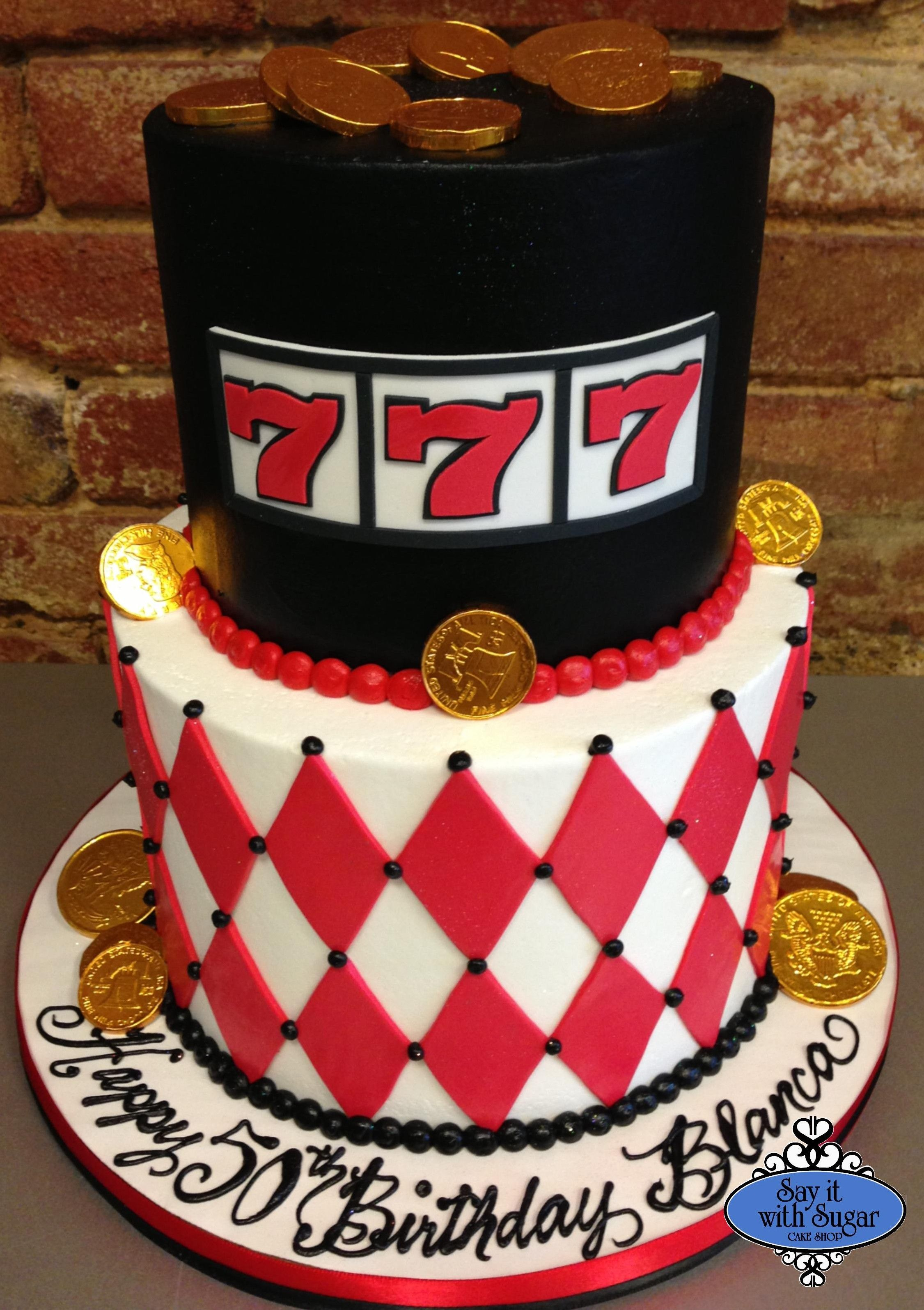 Casino cake casino cakes las vegas cake gambling cake