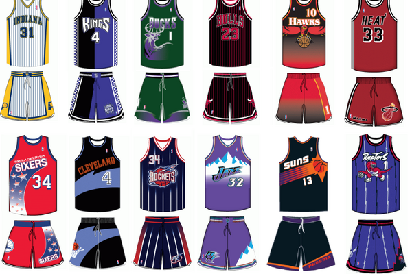 Every NBA Team's Best Throwback Jersey