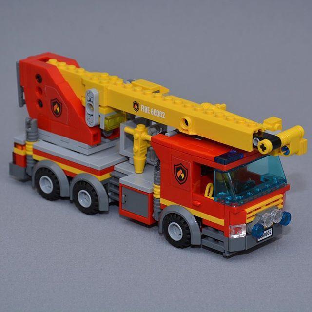 Afholte The bronto skylift fire truck #lego #legocity #legofire CH-99
