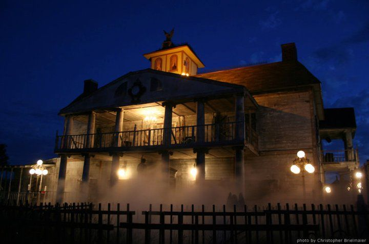 Haunted House In Terrell Texas Tx Trillvania Thrill Park Haunted Houses In America Real Haunted Houses Houses In America