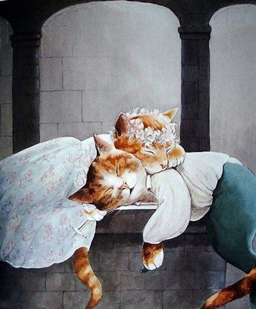 shakespeare-cats-susan-herbert-romeo-and-juliet