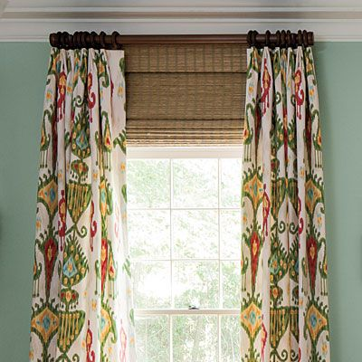 Good Hang Curtains At Ceiling Height Adding Shades To Give Illusion Of Taller  Windows