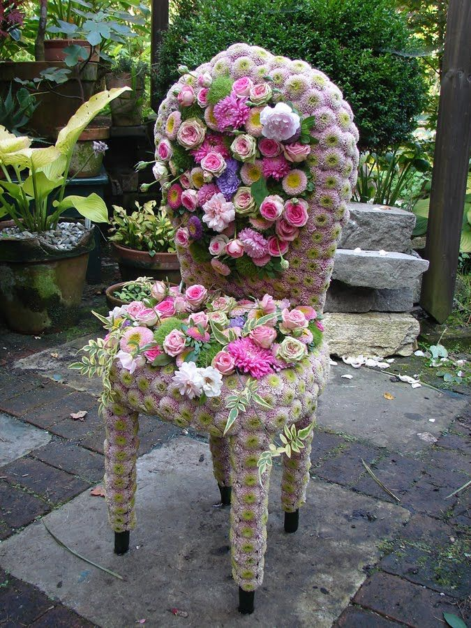 floral garden chair by andreas verheijen floral v l n en 2018 pinterest jardins. Black Bedroom Furniture Sets. Home Design Ideas