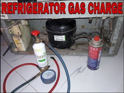 Refrigerator Gas Charging And Fridge Repair R134a Refrigerant