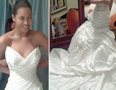 Finally Photos Of Beyonce S Wedding Dress Famous Wedding
