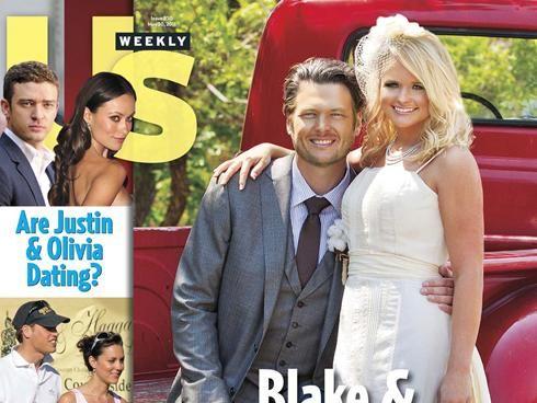 How Tall Is Miranda Lambert And Blake Shelton S Wedding Photo