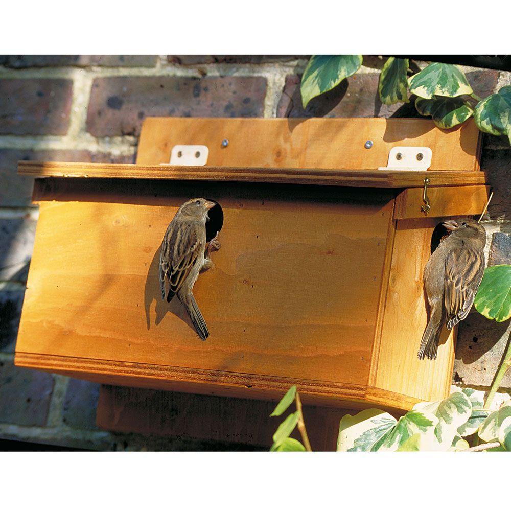 nistkasten sperling spezial nistk sten nistk sten vivara naturschutzprodukte vogelfutter. Black Bedroom Furniture Sets. Home Design Ideas