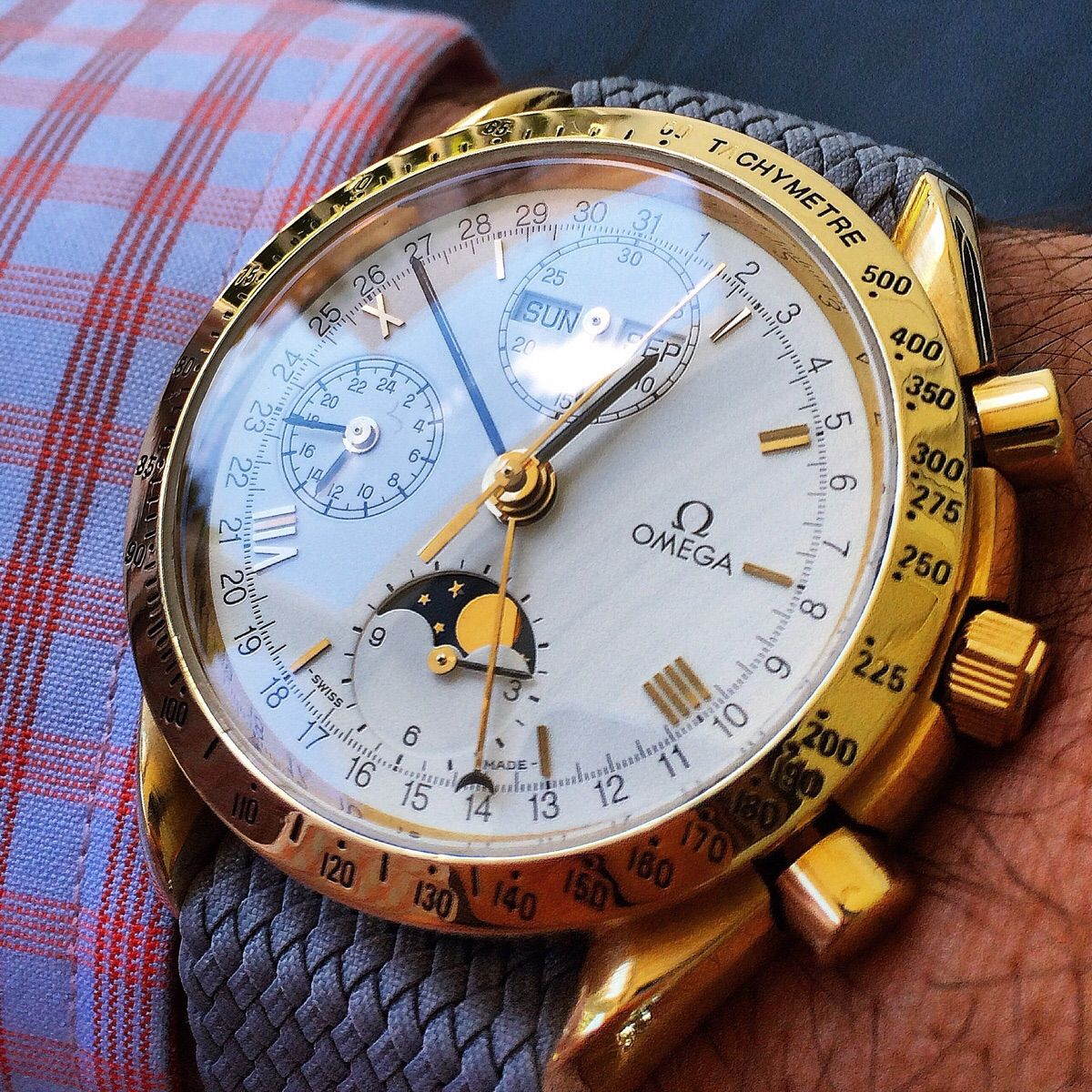 omega speedmaster chronograph date Speedmaster - when the speedmaster was introduced in 1957, it was valued by motorsport and rally drivers for its chronograph performance and for its design aesthetics.