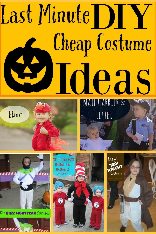 Last Minute Cheap DIY Halloween Costume Round-Up | Cheap costume ...
