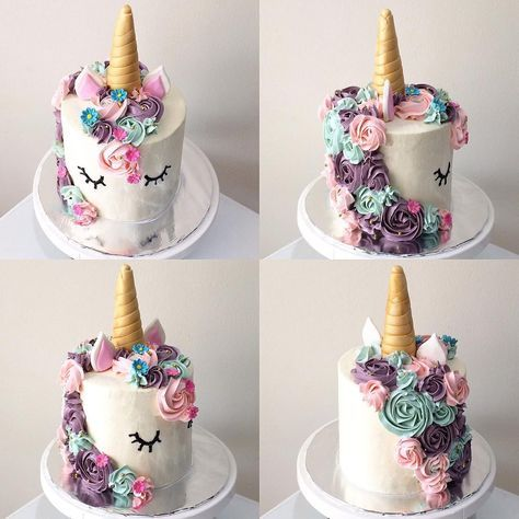 """231 Likes, 6 Comments - Shelly93 (@shellyshuwanty) on Instagram: """"With love, Unicorn my creation for @thedessertstory #unicorncakes #unicorncake"""""""