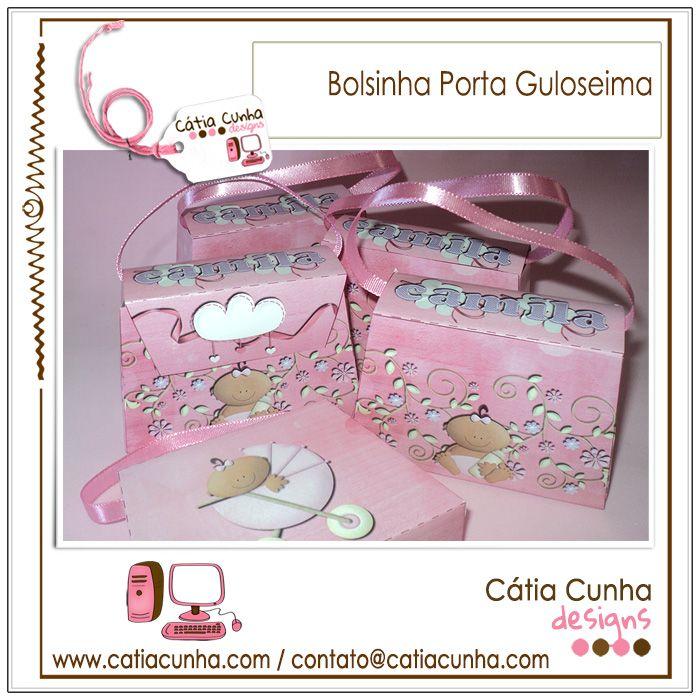 Bolsinha para Lembrança Maternidade e outros eventos!