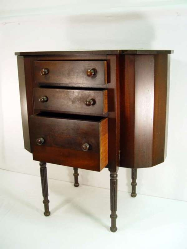 Antique Martha Washington sewing cabinet by Hekman | Martha ...