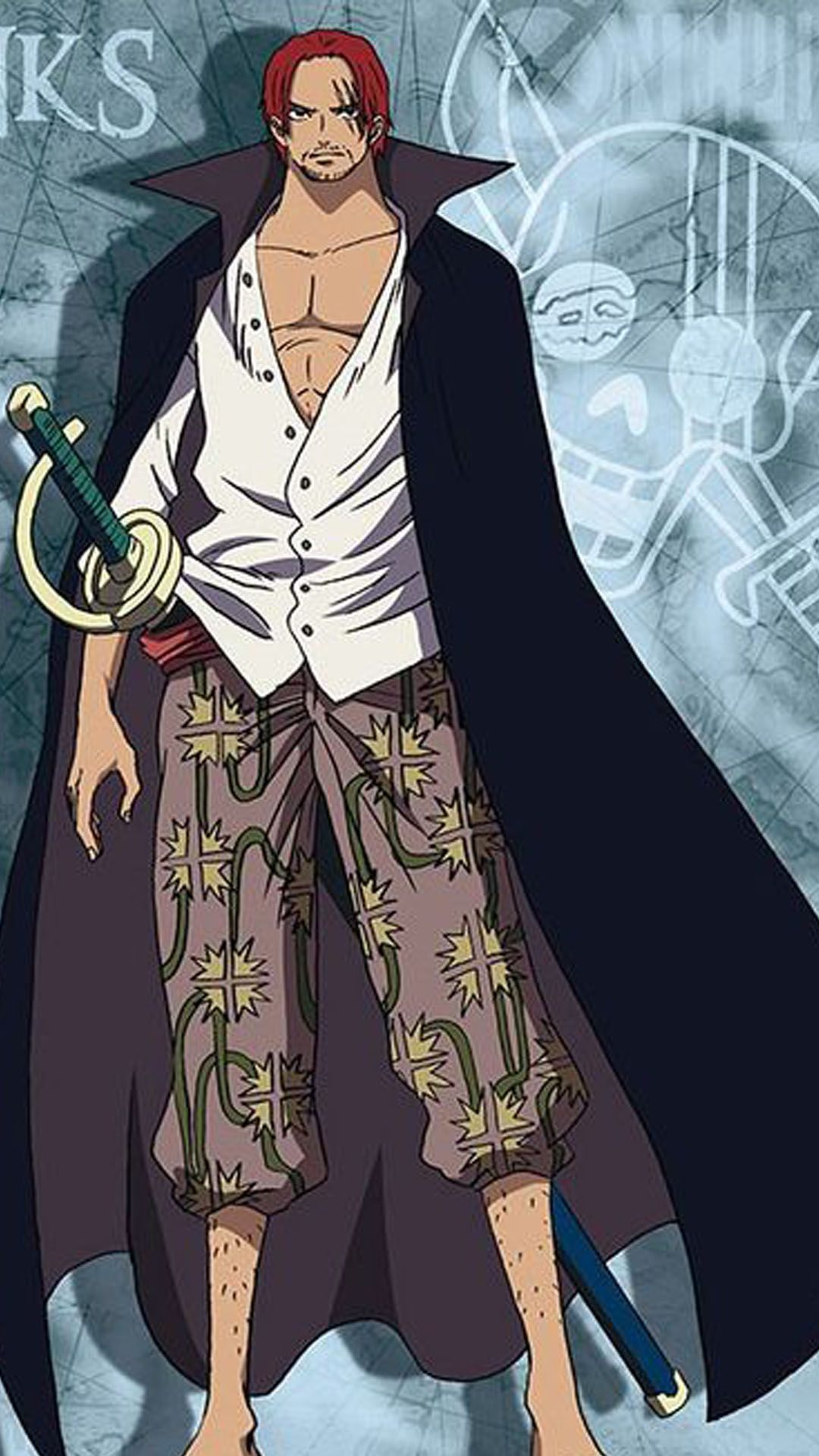 Shanks Wallpaper 11 Shanks One Piece Anime One Piece Disney