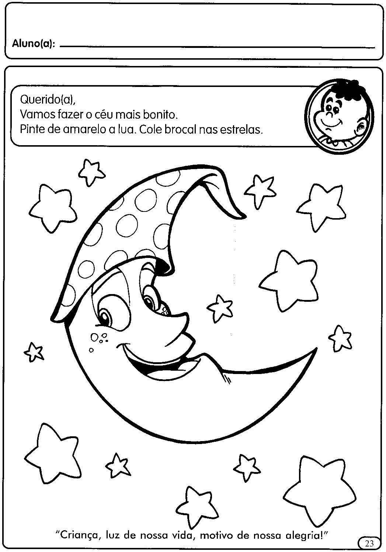 Atividades Para Educacao Infantil Dia E Noite Atividades Para