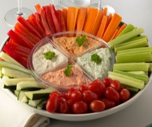 Botana De Verduras Con Dip Ostion Healthy SnacksHealthy Kids Party