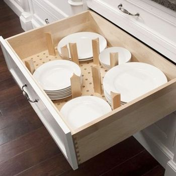 DIY: Wooden Pegboard Kitchen Drawer Organizer   This Is Brilliant! Pegboard  Cut To Size