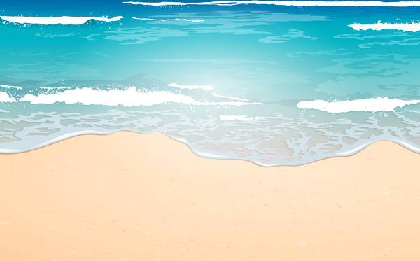 Sea Free PNG Clip Art Image Beach illustration, Beach