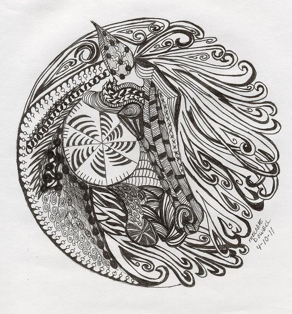 Medallion horse number 3 zentangle detailed zentangle recent photos the commons getty collection galleries world map app gumiabroncs Images