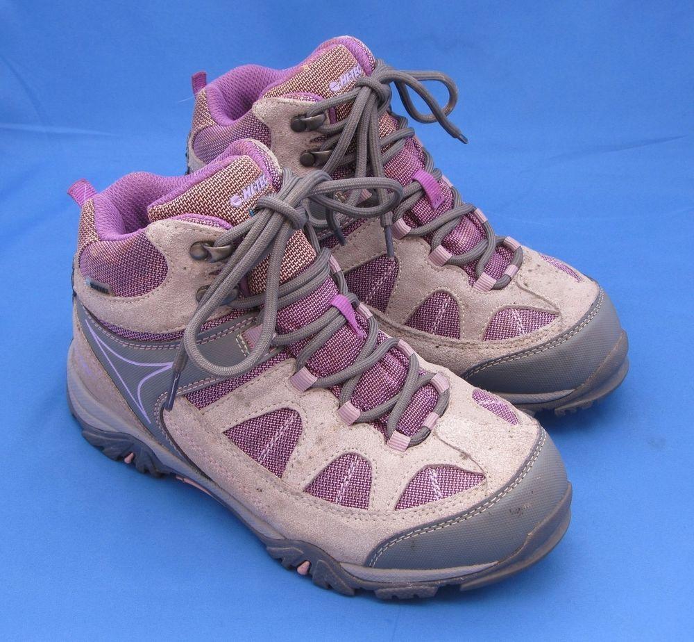 344ad917df5 Girl's Hi-Tec Waterproof Hiking Boots Size 4 Altitude Lite I WP JR ...