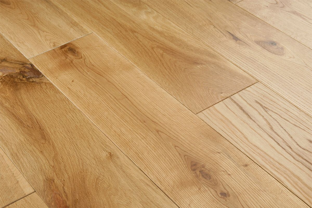 Colours Rondo Natural Solid Oak Flooring 1.08 m² Pack