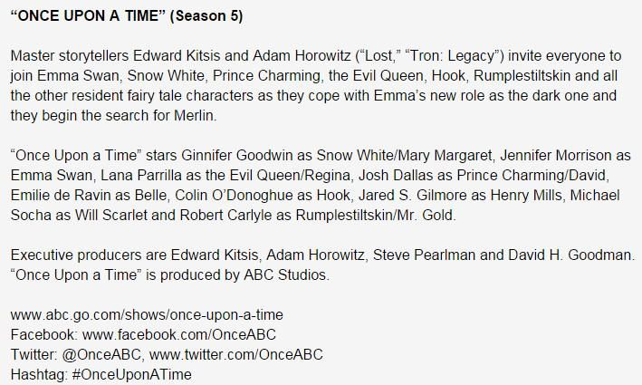 Official Synopsis of Season 5 !