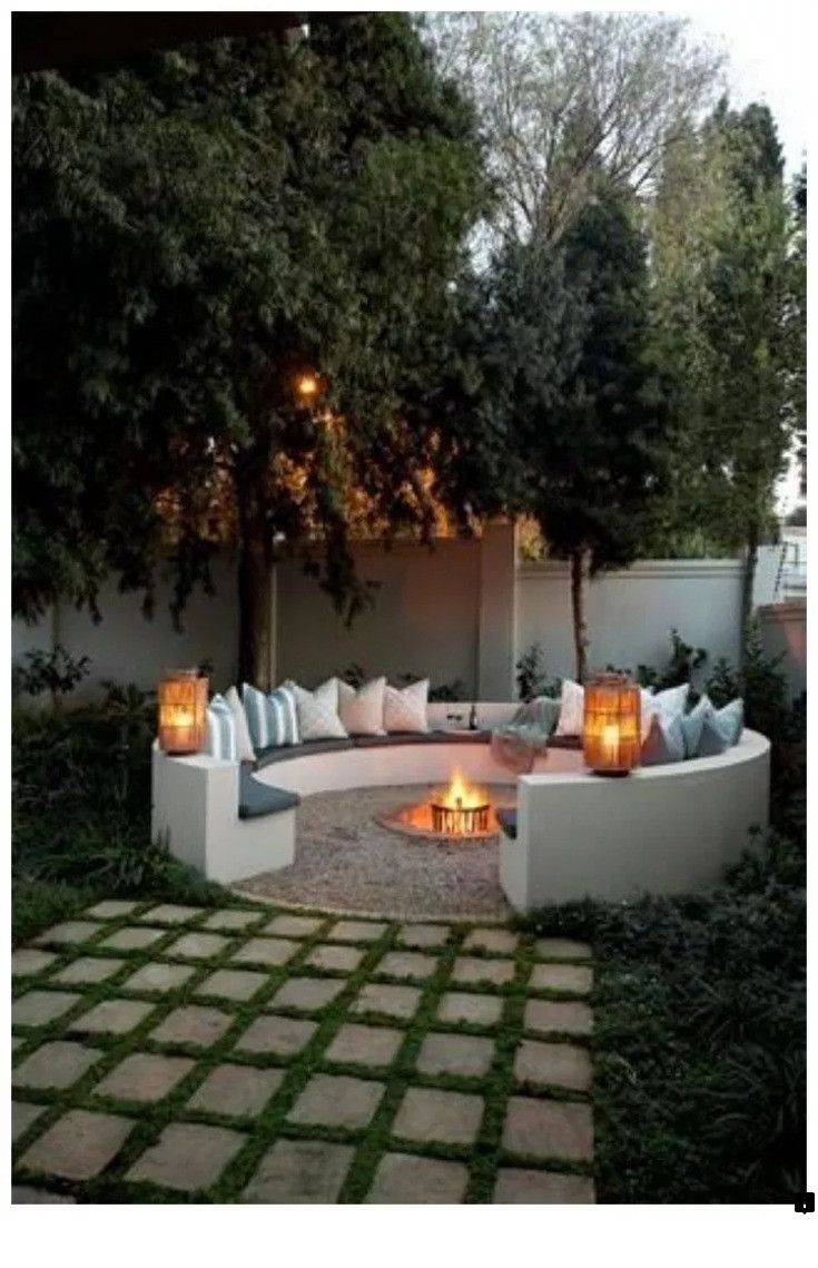 want to know more about small yard fire pit just click on on extraordinary low maintenance front yard and backyard landscaping ideas have a lovely garden with less work id=92746