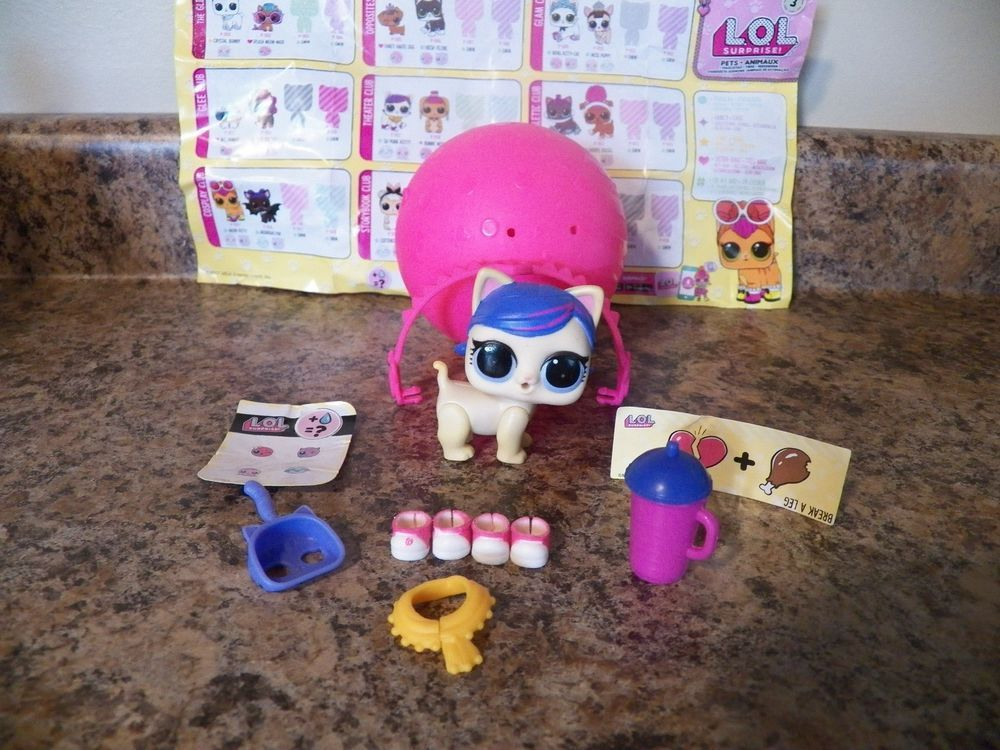 Other Brand & Character Dolls Lol Surprise Doll Pets Su-purr Kitty Cutie Series 3 Kitten L.o.l Cat Sd