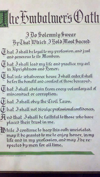 undertaker poem