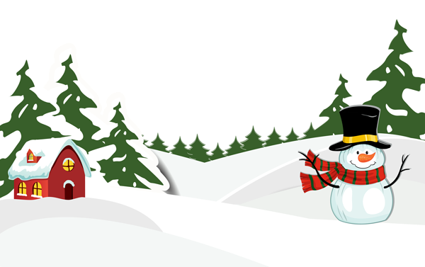 Snowy Ground With Snowman Png Clipart Image Clipart Images Free Clip Art Clip Art