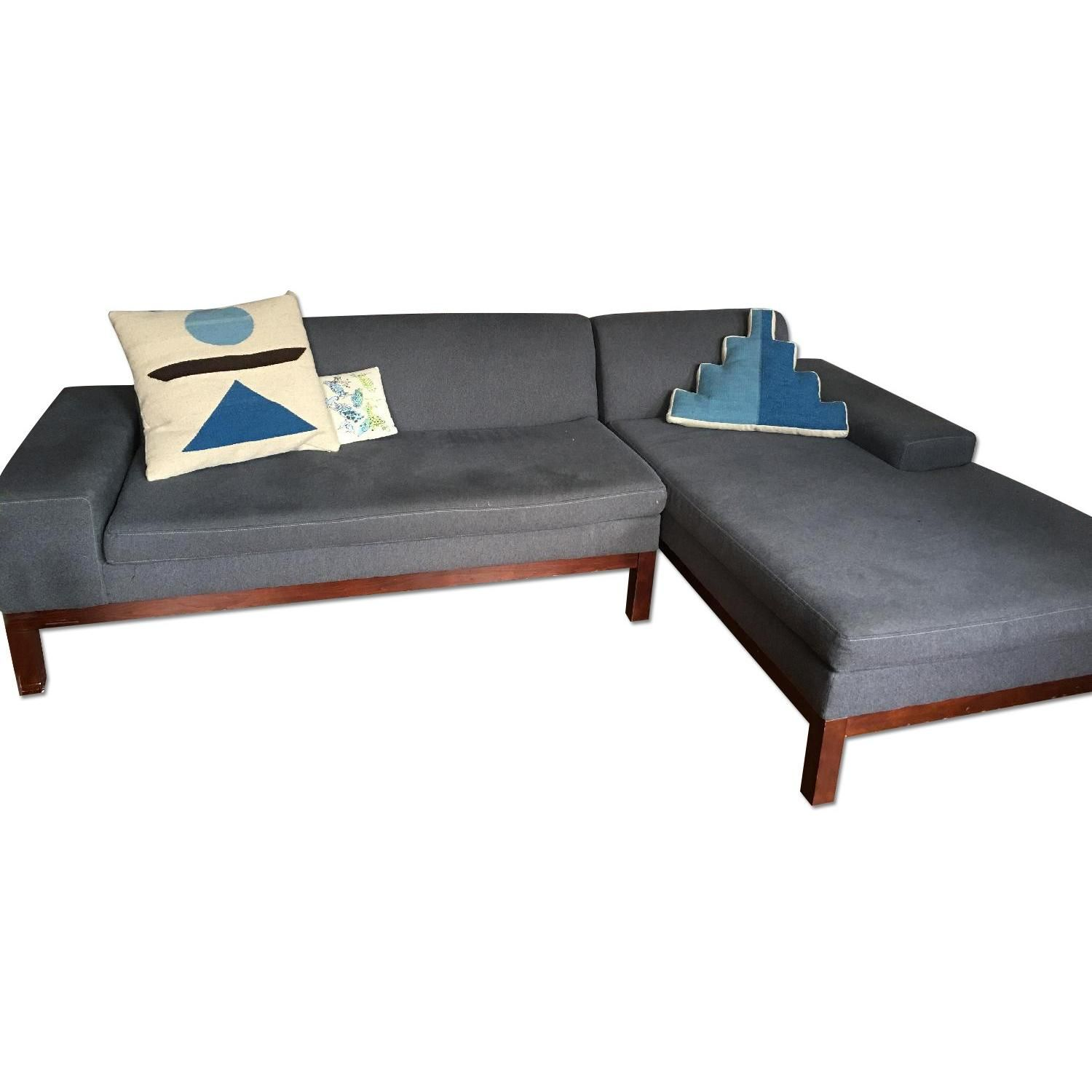 West Elm Lorimer Sectional Sofas Pinterest
