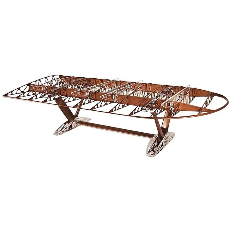Boeing Stearman PT17 75 Aircraft Wing Conference Table