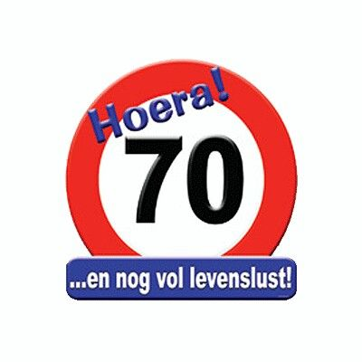 70 Jaar Felicitaties