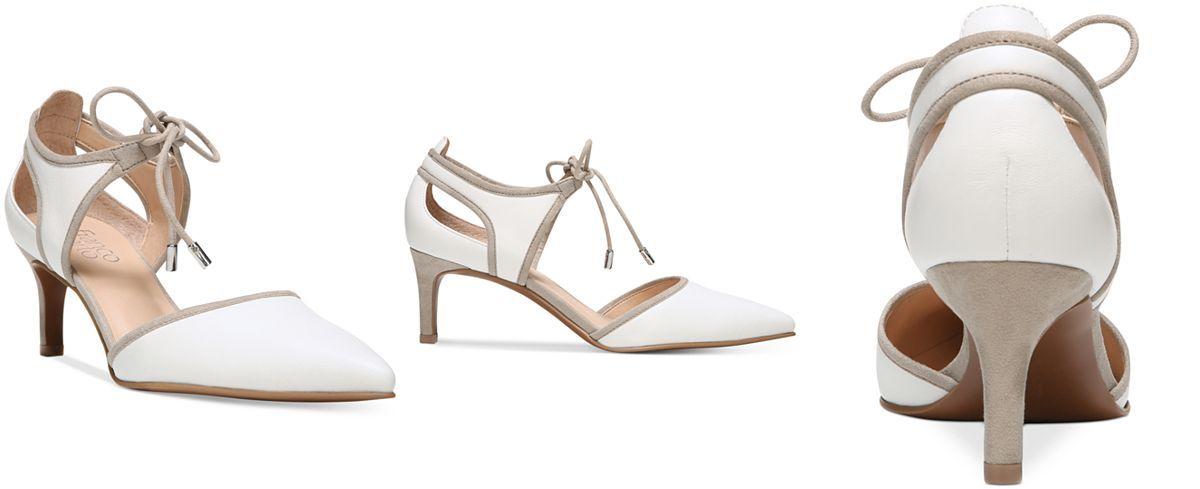 c8584861695c Franco Sarto Darlis Ankle-Tie Pointed-Toe Pumps - Pumps - Shoes - Macy s